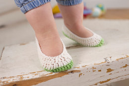 Baby Slippers in Schachenayr Baby Smiles Bravo Baby 185 - S9092 - Downloadable PDF