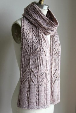 Winter Wish Scarf (Worsted)