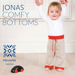 Jonas Comfy Bottoms in MillaMia Naturally Soft Merino - Downloadable PDF