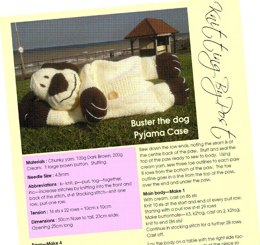 Buster the Dog Nightie Case