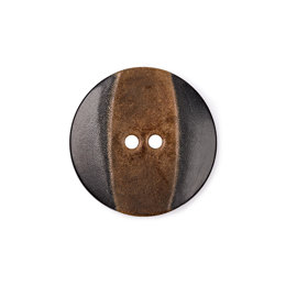 Trimits Round Slanted Wood Button