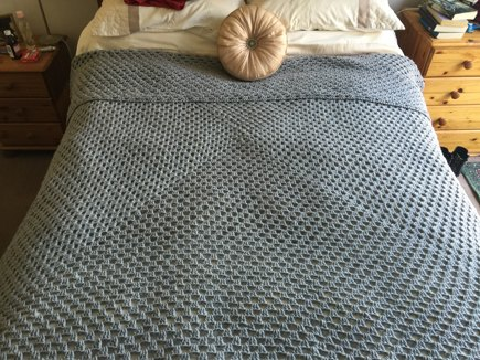 Giant Granny Square Blanket Crochet Project By Grace Amos Smith