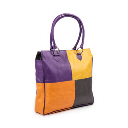 KnitPro Faux Leather Storage Solutions Volga Series Tote Bag