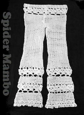 Creepy Skull Beach Pants Crochet Pattern By Spider Mambo