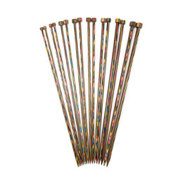 KnitPro Symfonie Single Point Needles 30cm (Set of 8)
