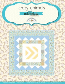 Riley Blake Crazy Animals - Downloadable PDF
