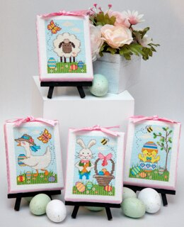 Tiny Modernist Easter Cuties - Leaflet