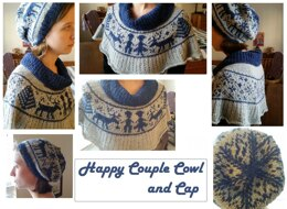 Happy Couple Cowl and Cap