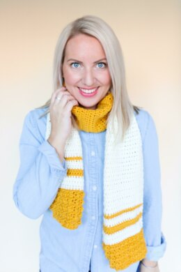 Honey Mustard Scarf