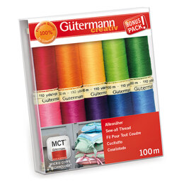 Gutermann Thread Set: Sew-All: 100m: Pack of 10 Assorted #3