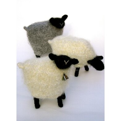 Felted Woolly Sheep