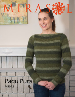 Jumper With Rib Detail in Mirasol Paqu Pura - M5073