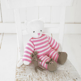 Kitty In Pyjamas in Hayfield Baby DK - 4464