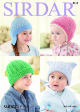 Hats in Sirdar Snuggly DK - 4818 - Downloadable PDF