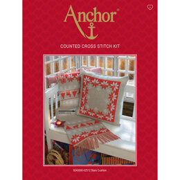 Anchor Stars Cushion Cross Stitch Kit