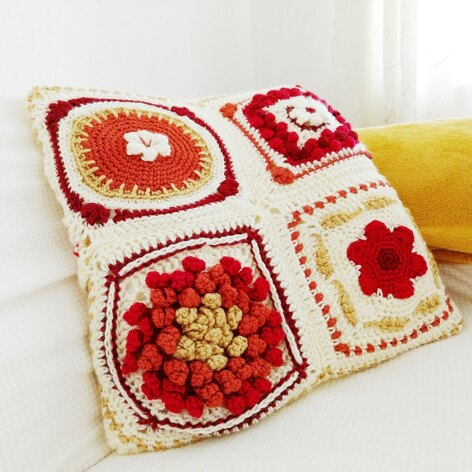 Fall In New England Cushion