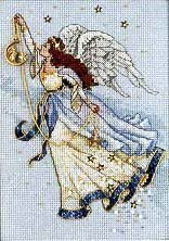 Dimensions Twilight Angel Cross Stitch Kit - 13cm x 18cm