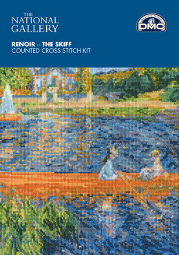 DMC The National Gallery - Renoir - The Skiff - 30cm x 23cm