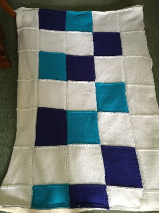 Weighted Blanket For Child With Autism Knitting Project By