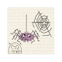 Mouseloft Make Me for Halloween - Spider Cross Stitch Kit