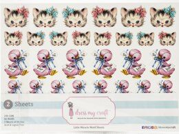Dress My Craft Image Sheet 240gsm A4 2/Pkg - Little Miracle