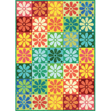 Michael Miller Fabrics Fairy Frost Crayon Box Quilt - Downloadable PDF