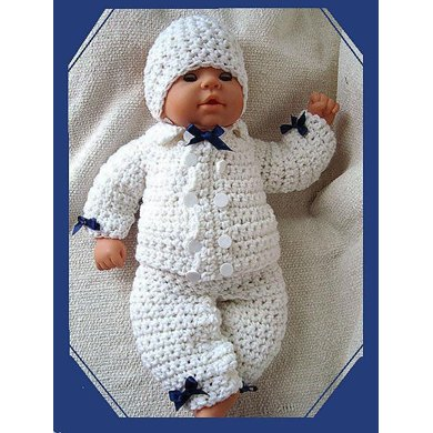 226 BOY CHRISTENING OUTFIT, hat, jacket, pants