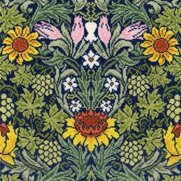Bothy Threads William Morris Sunflowers Cross Stitch Kit