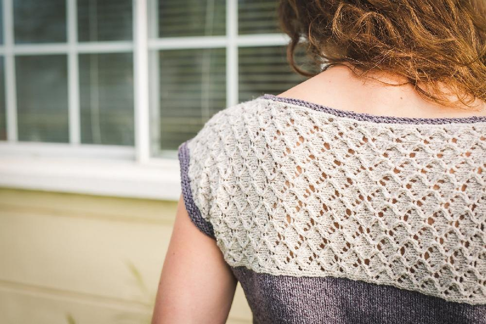 Morning Mist Knitting pattern by by Annie Claire Knitting Patterns LoveKn...