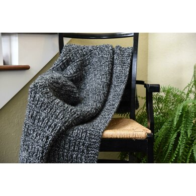 Winter Grille Chunky Blanket