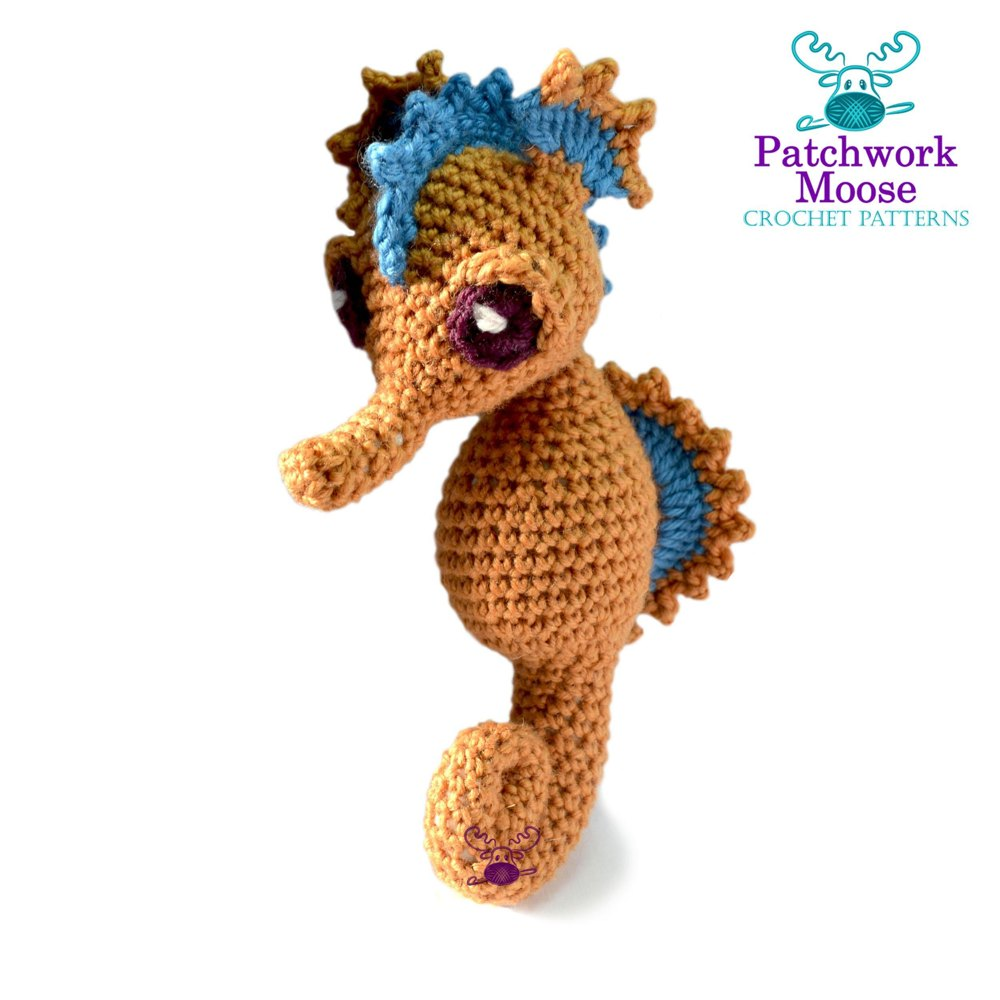 Josie the seahorse crochet pattern by patchwork moose zoom bankloansurffo Image collections