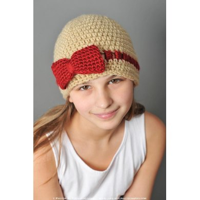 Gracie Hat with flower or bow