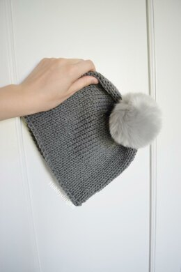 Simple Grey Beanie