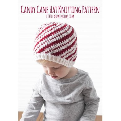 Peppermint Candy Cane Hat