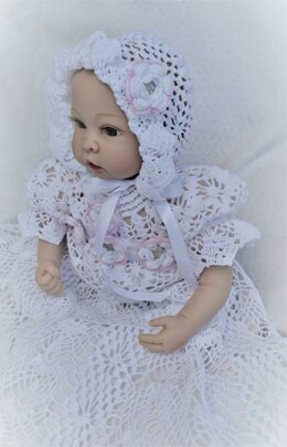 Heirloom christening bonnet