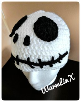Jack Skellington inspired Crochet Hat