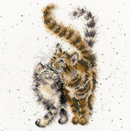 Bothy Threads Feline Good - Hannah Dale - 26cm x 26cm