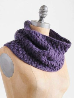 Pangolin Cowl in Blue Sky Fibers - T13 - Downloadable PDF