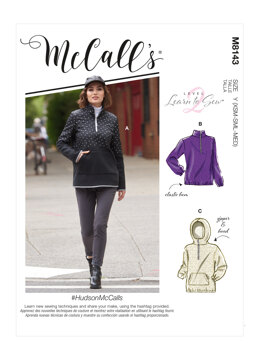 McCall's HudsonMcCalls - Misses' Tops M8143 - Sewing Pattern