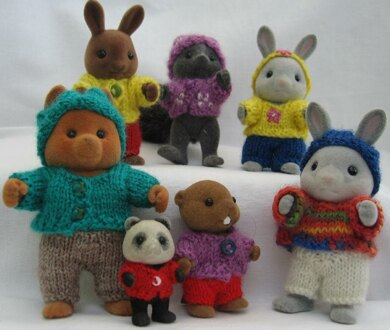 PLAYING IN THE WOODS for Sylvanian Families and Calico Critters