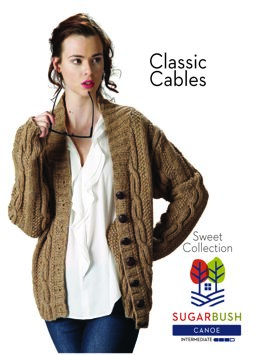 Classic Cables in Sugar Bush Yarns Canoe - 658507 - Downloadable PDF