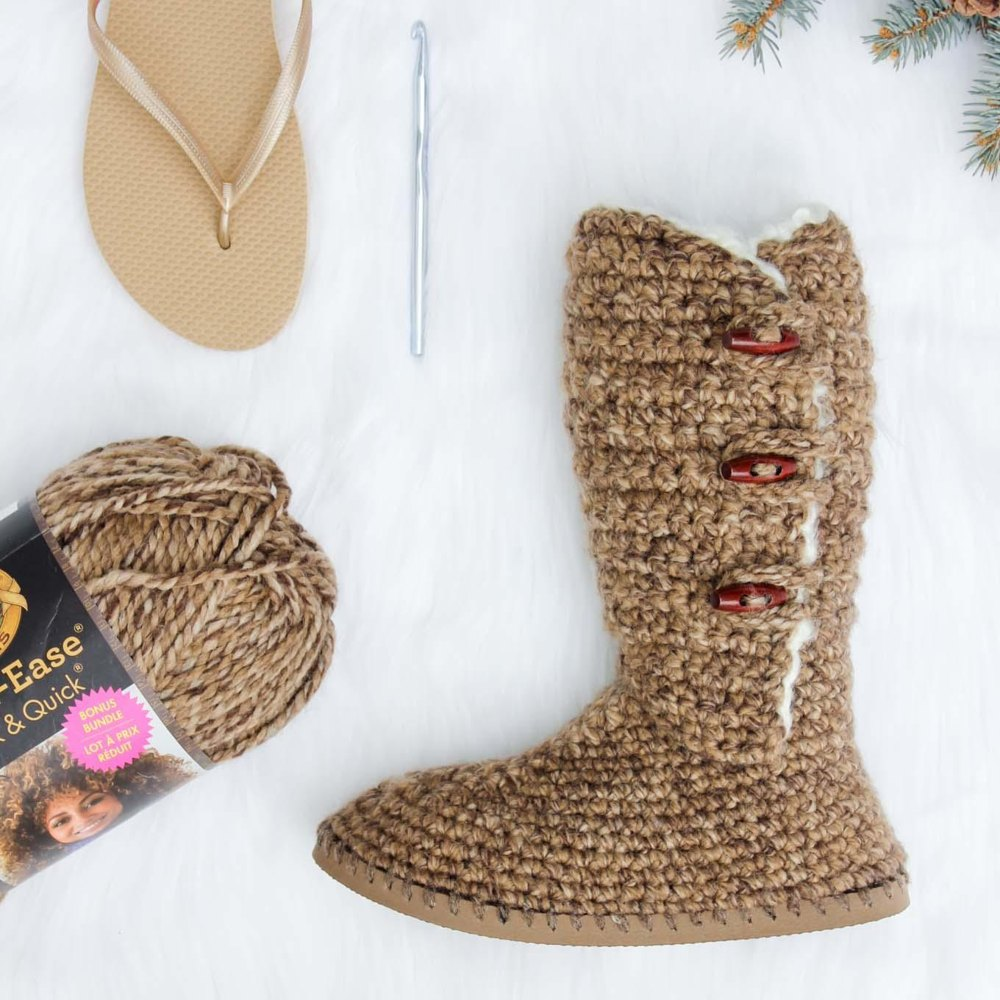 Breckenridge Boots With Flip Flop Soles Crochet Pattern By Jess