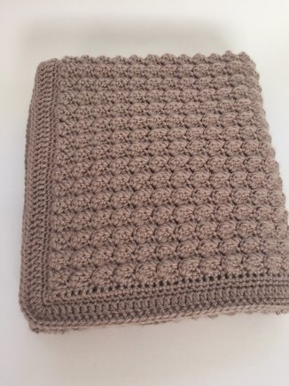 Chunky Bumpy Baby Blanket In Dk Crochet Project By Deborah O