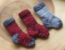 Little Sock Ornaments