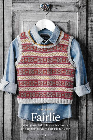 Child s Fair Isle Tank Top