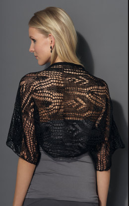 Bolero in Katia Inox Lace - Downloadable PDF