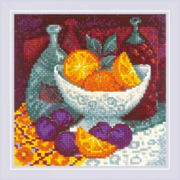 Riolis Oranges Cross Stitch Kit - 20cm x 20cm
