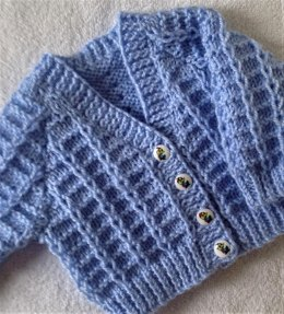 Little Loops baby cardigan