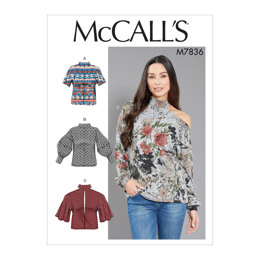 McCall's Misses' Tops M7836 - Sewing Pattern