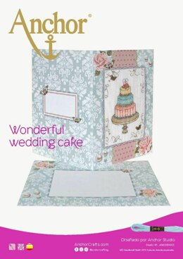 Wedding Celebrations -  Wonderful Wedding Cake in Anchor - Downloadable PDF